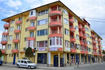 Изграждане на сграда с офис и жилищна част.